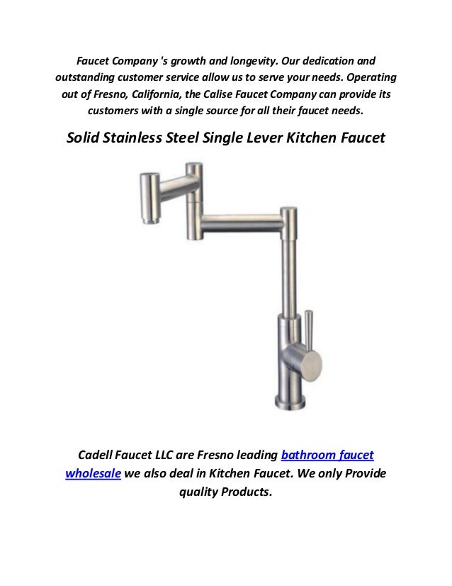 Calise Kitchen Faucet