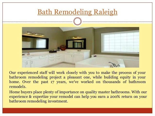Bath Remodeling Raleigh ...