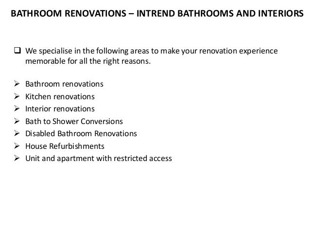 Bathroom Renovators Gold Coast