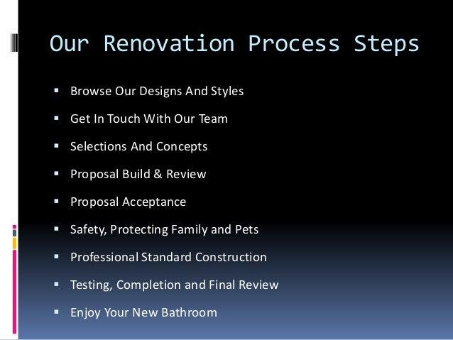 bathroom renovation process jude s bathrooms