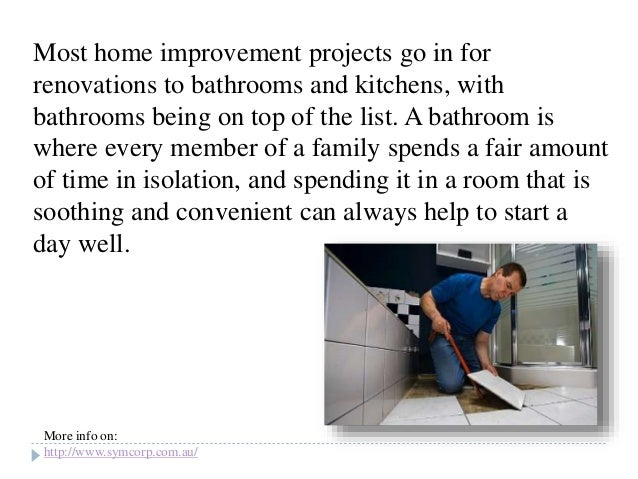 Bathroom Renovations Add To The Value Of A Home And Its