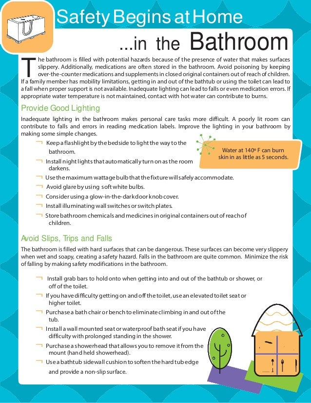 Bathroom Safety Guide for the Elderly