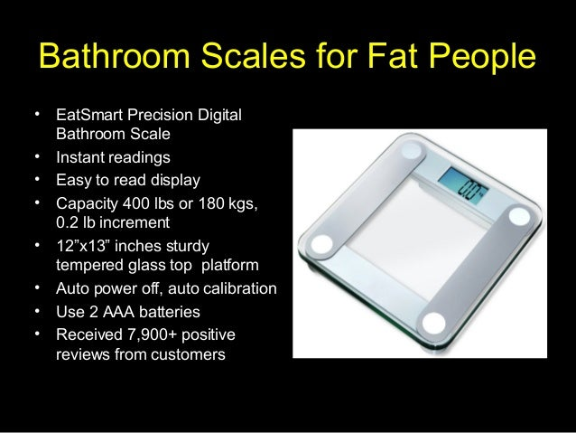Bathroom scales for fat people - How to calibrate a bathroom scale ...