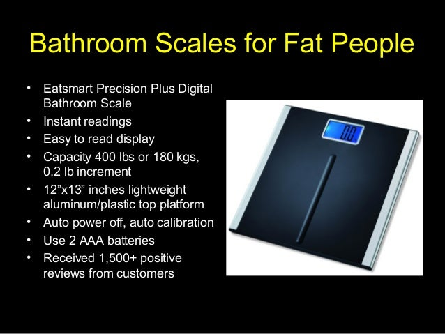 Bathroom Scales For Fat People
