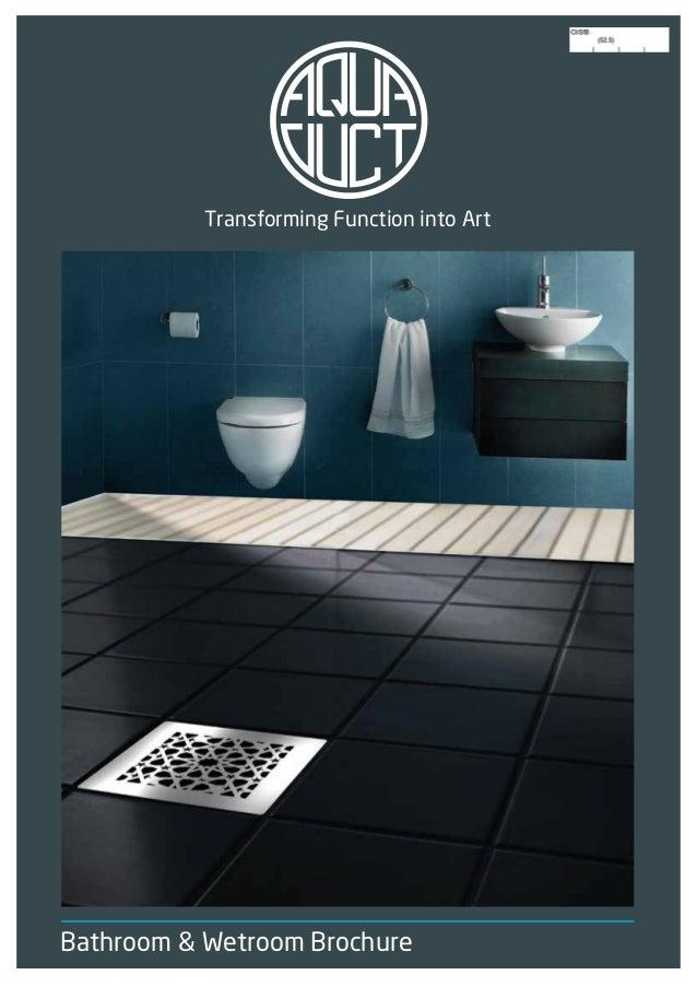 bathroom wetroom brochure