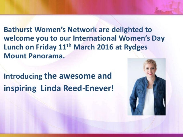 bathurst women s network business international women s