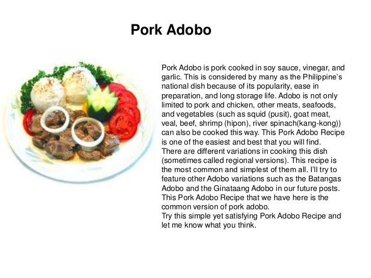 Batica restaurant 7 pork adobo recipe ingredients forumfinder Image collections