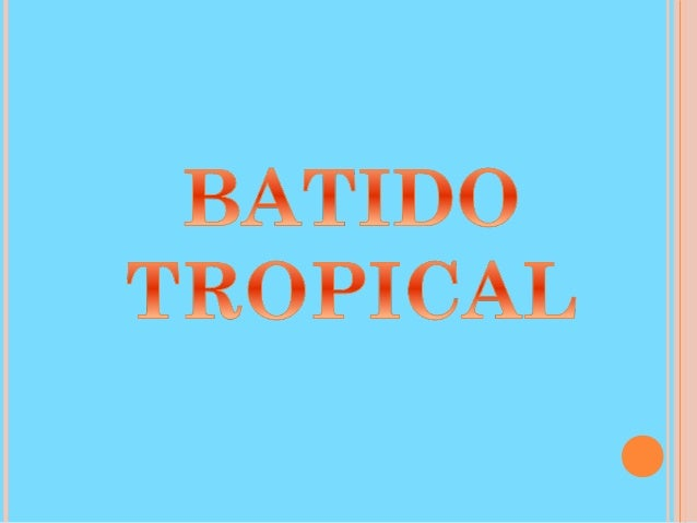Ingredientes: •2 rodajas de piña •2 rodajas de papaya •1 mango •½ taza leche evaporada •2 cdas. leche condensada •1 taza h...