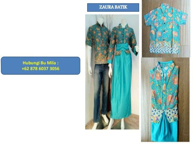 Hub 62 878 6037 3056 Xl Model Gamis Batik Sarimbit Terbaru Mod