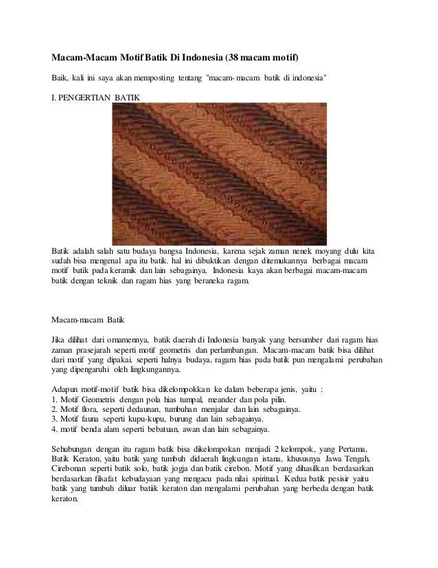 Batik Dindonesia