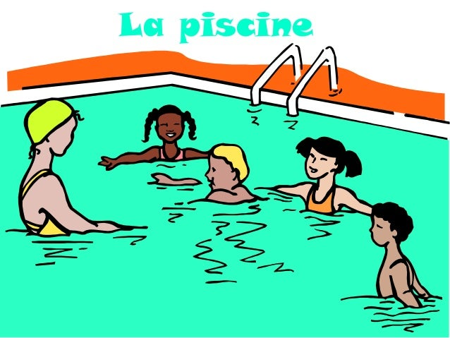 Lexique la ville d apr s la page du fle for La piscine in english