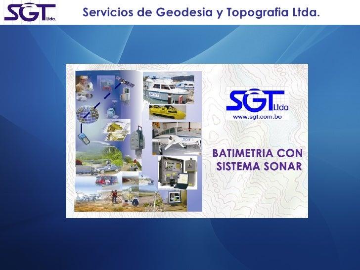 Servicios de Geodesia y Topografia Ltda.