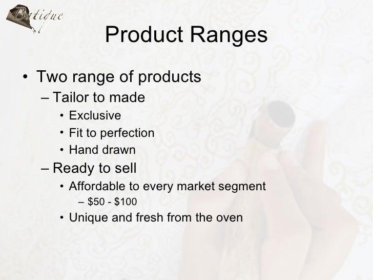 tailor shop business plan
