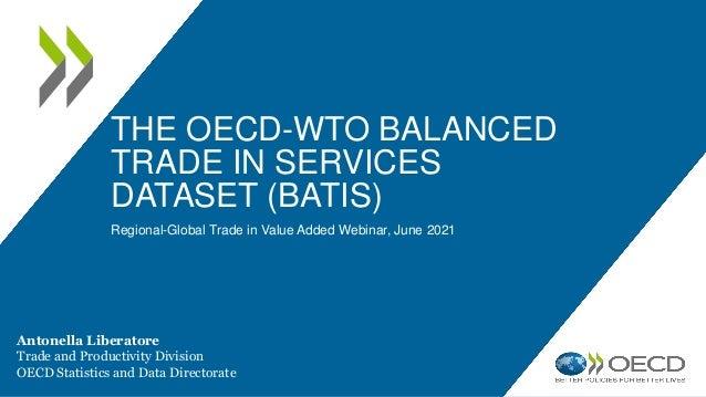 Balanced Trade in Services Data (BaTiS)