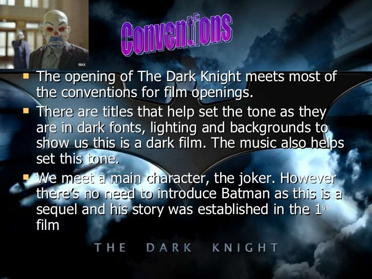 batman the dark knight film analysis The dark knight is i suppose the greatest superhero movie ever made, but it's so   in the end it doesn't matter whether batman captures joker or joker takes out.