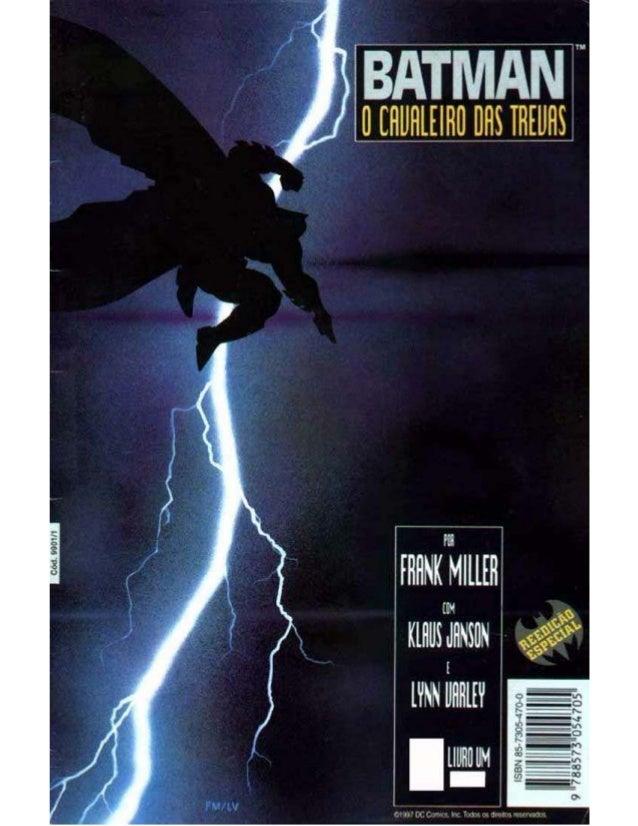 Batman   o cavaleiro das trevas 1 de 4