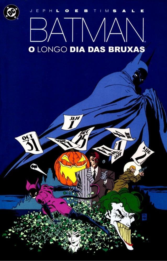 Batman   o longo dia das bruxas 01
