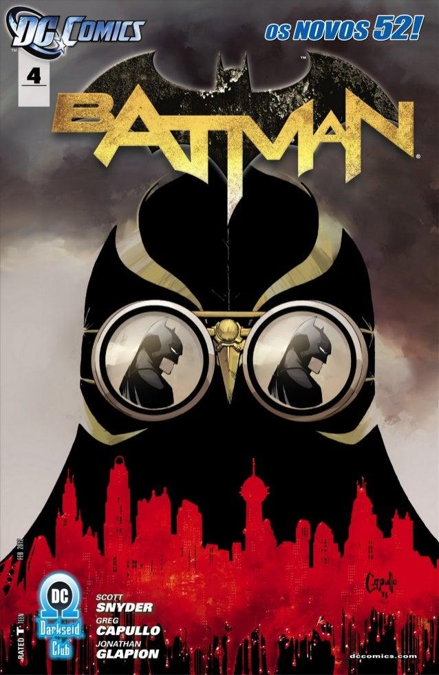 Batman #04 [os novos 52]