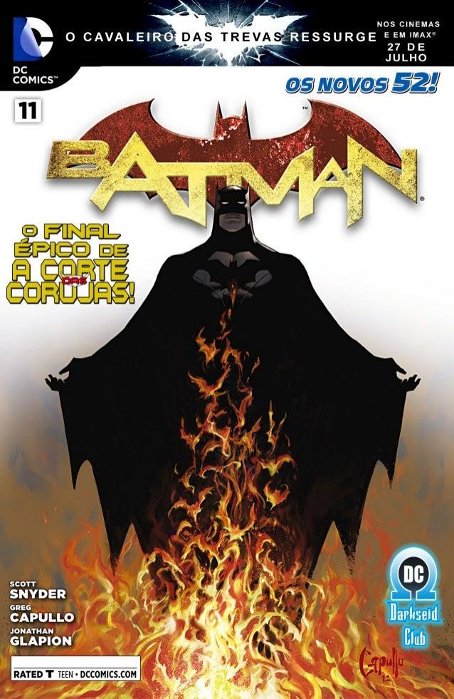 Batman #11 [os novos 52] Slide 2
