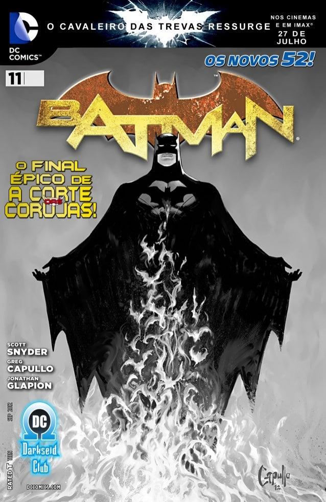 Batman #11 [os novos 52] Slide 3
