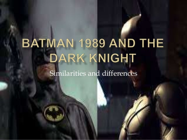 batman and the dark knight essay