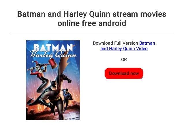 Batman And Harley Quinn Stream