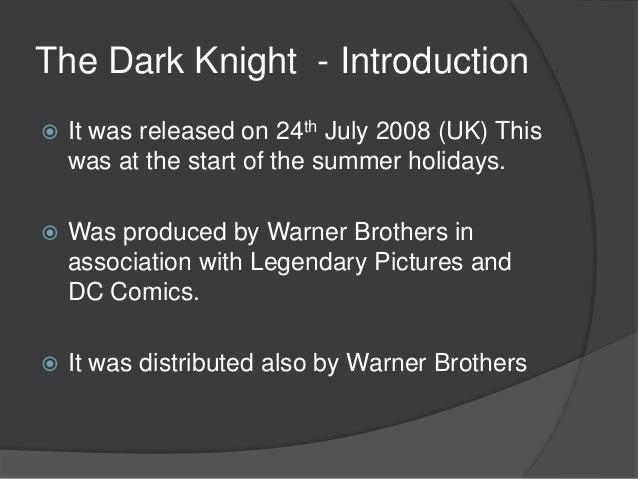 dark knight case study