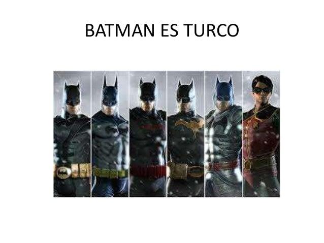 BATMAN ES TURCO