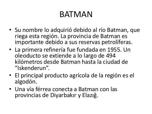 BATMAN • La provincia de Batman está compuesta por los distritos de: Batman (merkez), Beşiri, Gercüş, Hasankeyf, Kozluk y ...