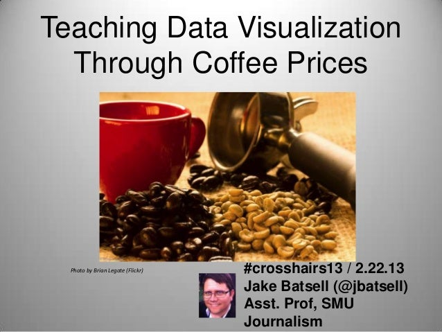Teaching Data Visualization  Through Coffee Prices  Photo by Brian Legate (Flickr)   #crosshairs13 / 2.22.13              ...