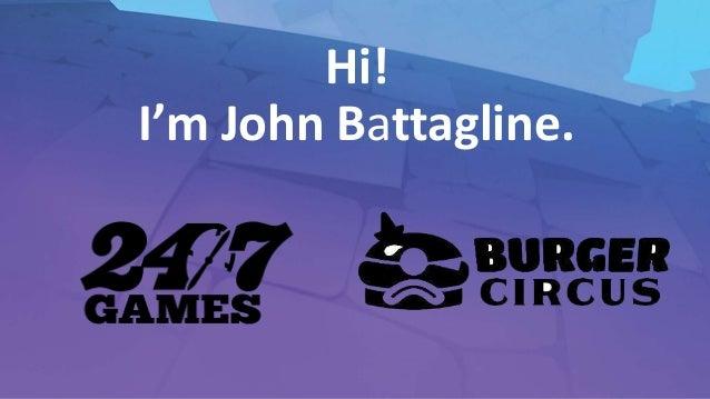 Casually Create an Indie Game Label | John Battagline Slide 3