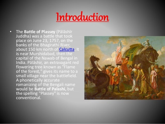 battle of plassey and battle of buxar