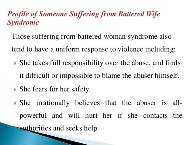 battered person syndrome medical dictionary