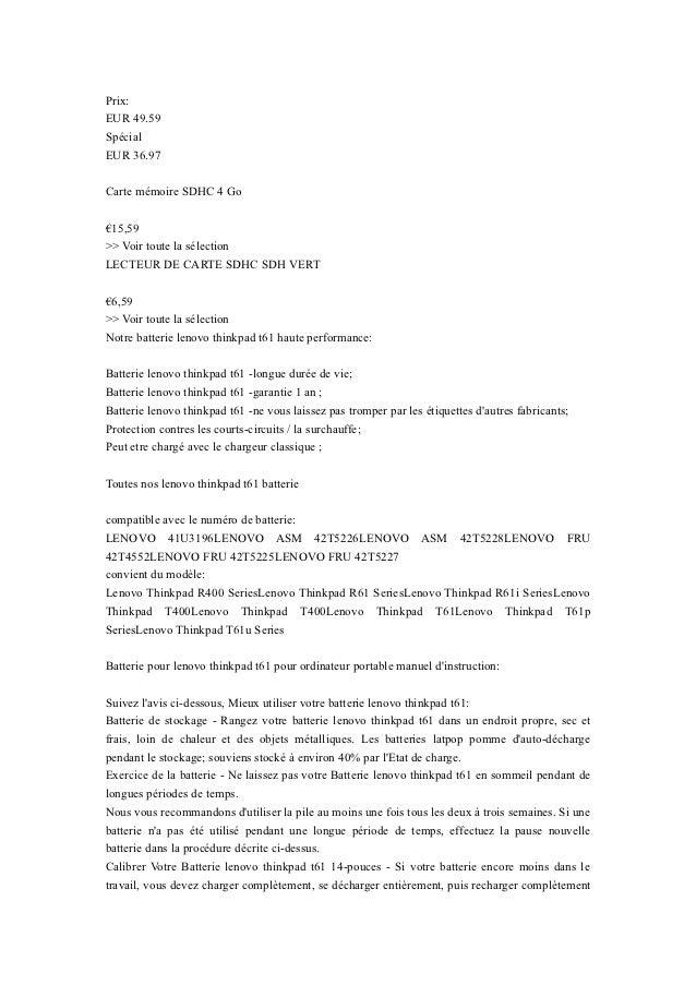 Prix:EUR 49.59SpécialEUR 36.97Carte mémoire SDHC 4 Go€15,59>> Voir toute la sélectionLECTEUR DE CARTE SDHC SDH VERT€6,59>>...