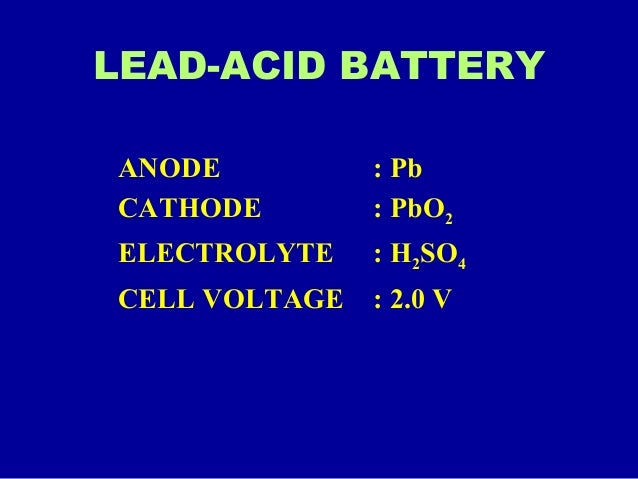 Batteries and types