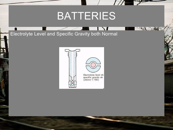 Batteries & charging system