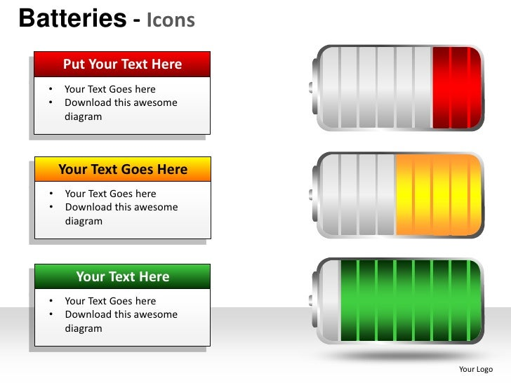 Batteries Renewable Energy powerpoint presentation templates