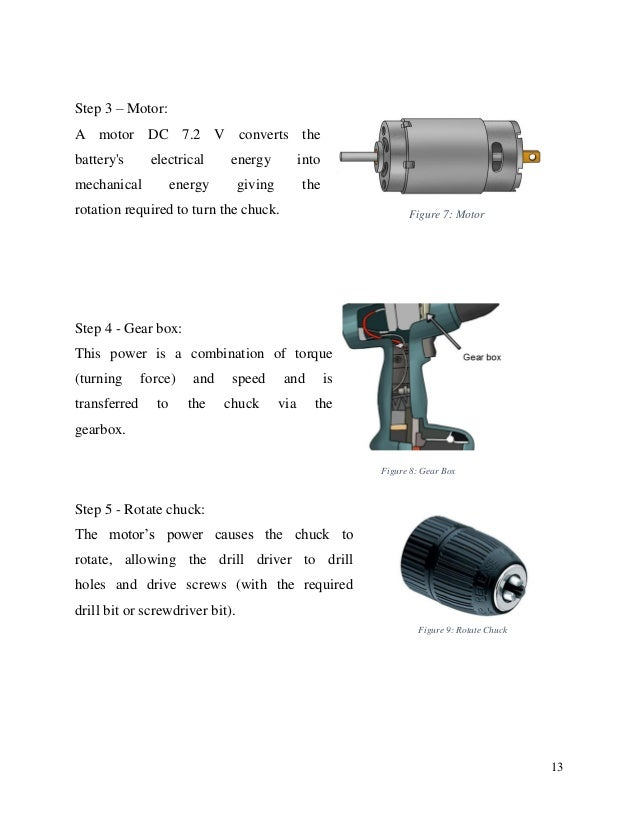 Reverse Engineering For Cordless Drill