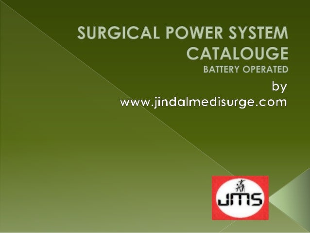 Battery Operated Surgical Power Drill & Saw