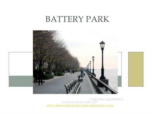 BATTERY PARKAN EDUCATIONAL EXPERIENCE WITH ONBOARD SIGHTSEEING               TOURS IN NEW YORK CITY!     HTTP://NEWYORKTOU...