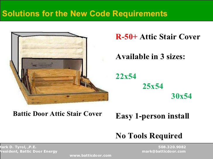 ... Requirements; 16.  sc 1 st  SlideShare & Battic Door - Attic Access Solutions