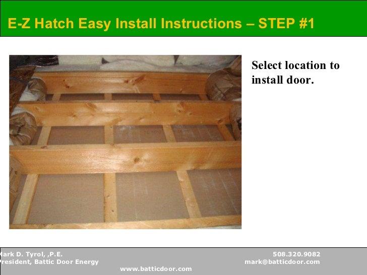 ... 9. & Battic Door - Attic Access Solutions