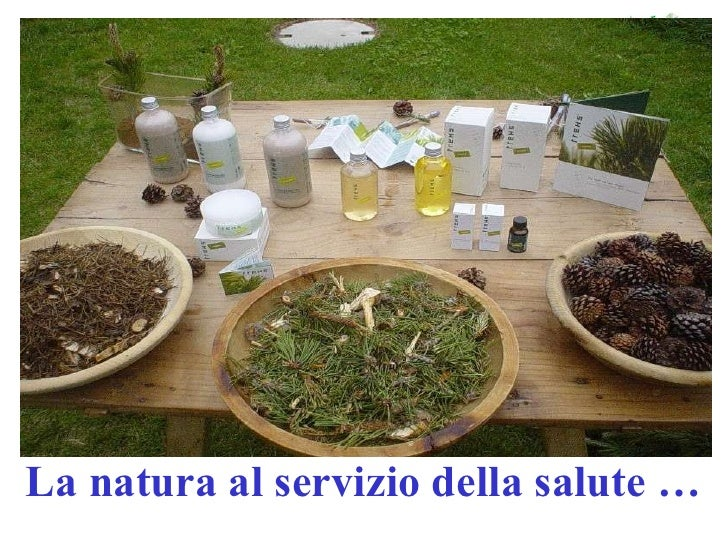 La natura al servizio della salute …
