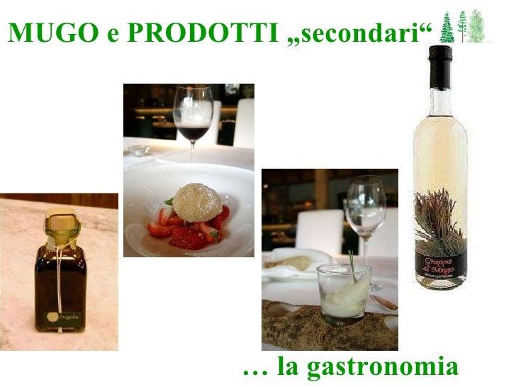 """MUGO e PRODOTTI """"secondari"""" …  la gastronomia"""