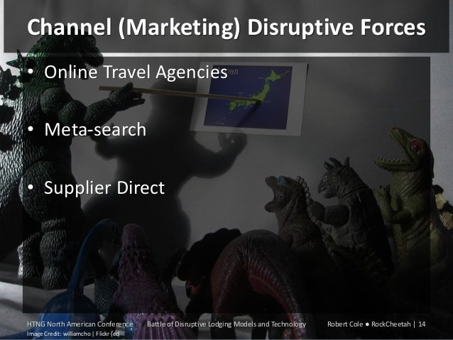 Channel (Marketing) Disruptive Forces • Online Travel Agencies • Meta-search • Supplier Direct  HTNG North American Confer...