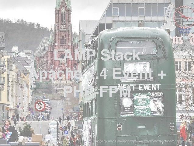 Apache 2.2 Prefork Apache 2.4 Worker + FPM HHVM + NGINX LAMP Apache 2.4 Event + FPM Lighty + FPM LEMP LAMP Apache 2.4 Pref...