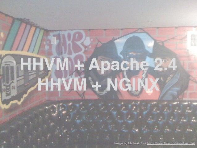 LAMP Apache 2.4 Prefork! ! vs! ! HHVM + Apache 2.4! ! http://ldr.io/1DjdQAj http://ldr.io/ZzKpKX