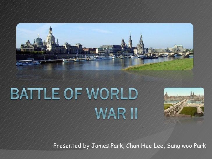 Presented by James Park, Chan Hee Lee, Sang woo Park