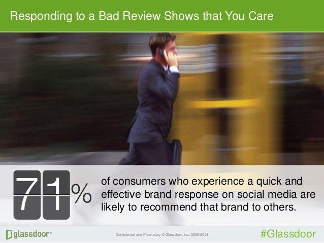 How To Battle Bad Glassdoor Reviews