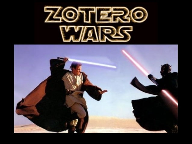 Zotero Wars